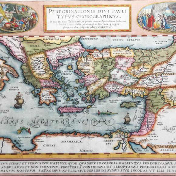 Peregrinationis divi Pauli Typus Chorographicus