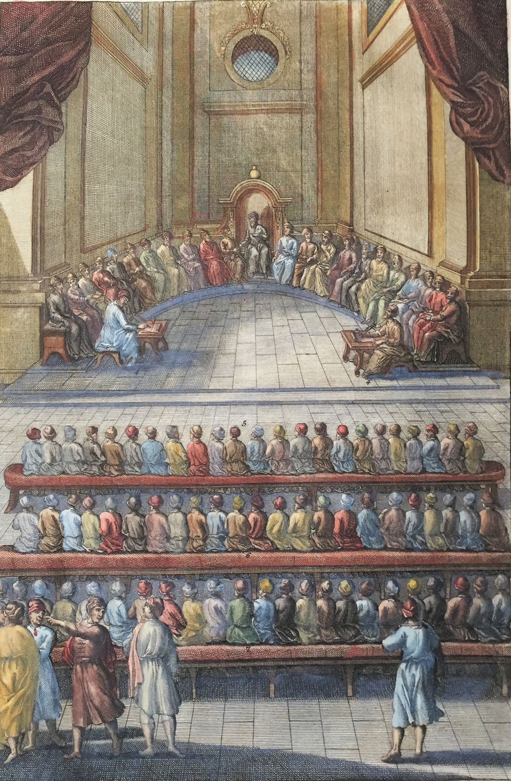 Tribunal of 23 Judges at the Sanhedrin
