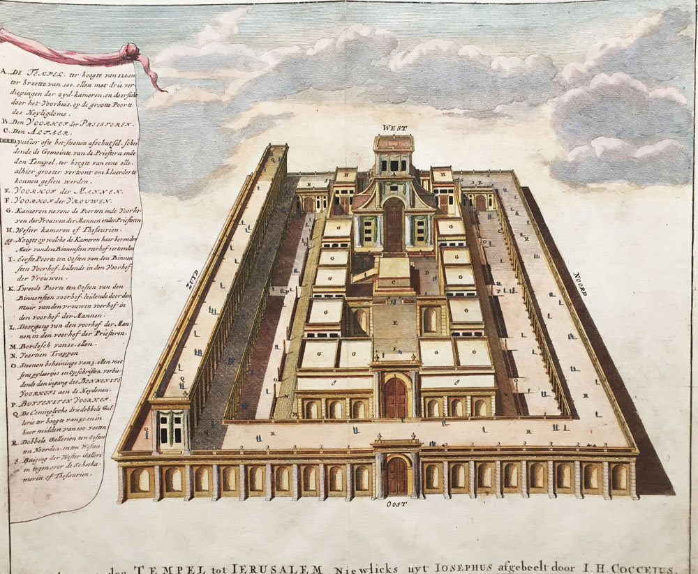 Transparent View of the Temple of Jerusalem