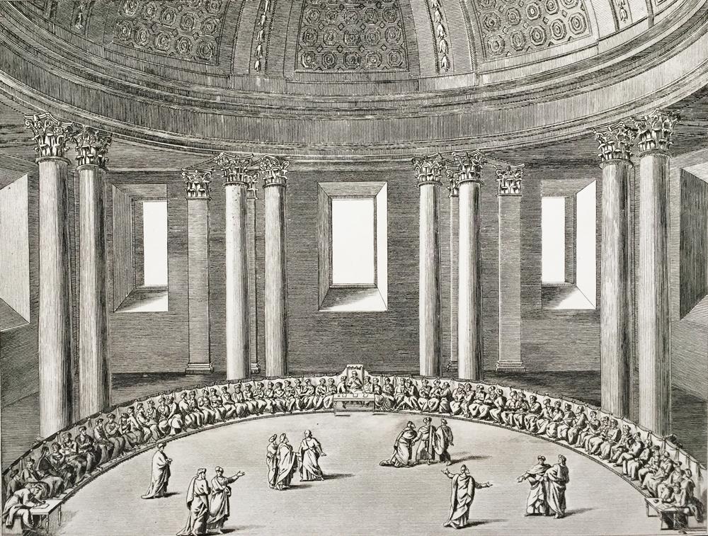 Sanhedrin Assembly – Representation du grand Sanhedrin