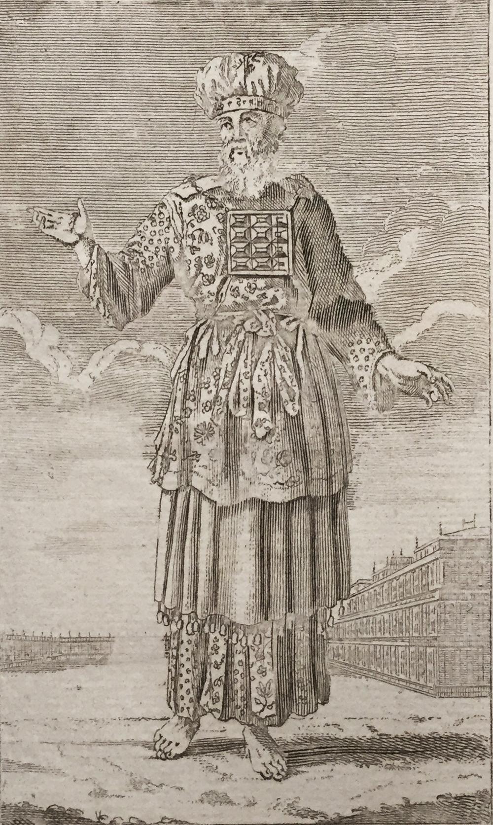The Jewish High Priest in His Pontifical Habit