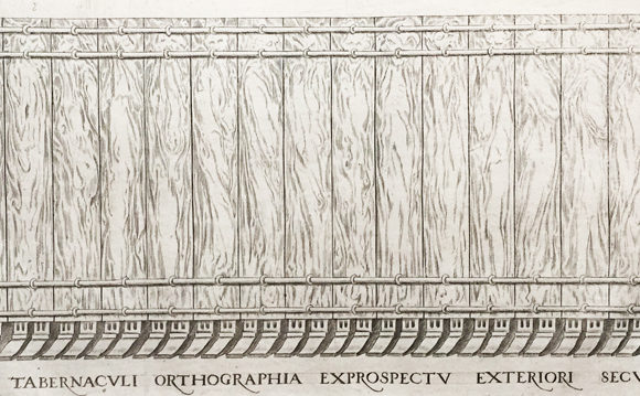 Four engravings of the Holy Tabernacle