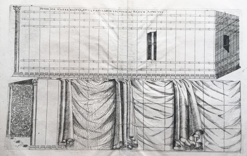 Exterior Tabernaculi Eiusqtabularum Vectium ac Basium Aspectus (Closeup of the coverings of a tabernacle)