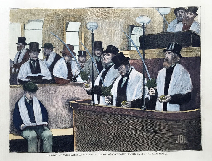 Feast of the Tabernacles (Succoth) at the North London Synagogue
