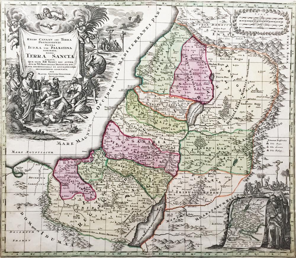 Regio Canaan seu Terra Sancta Promissionis