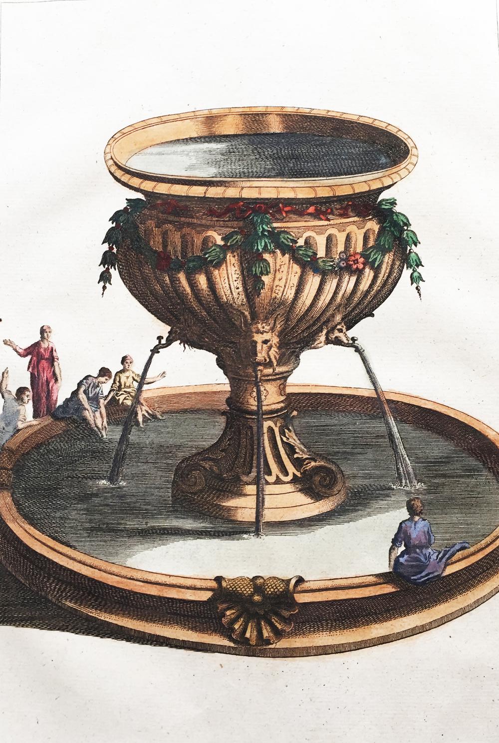 Lavoir, ou Bassin d'Airin qui étoit dans le Parvis du Tabernacle.