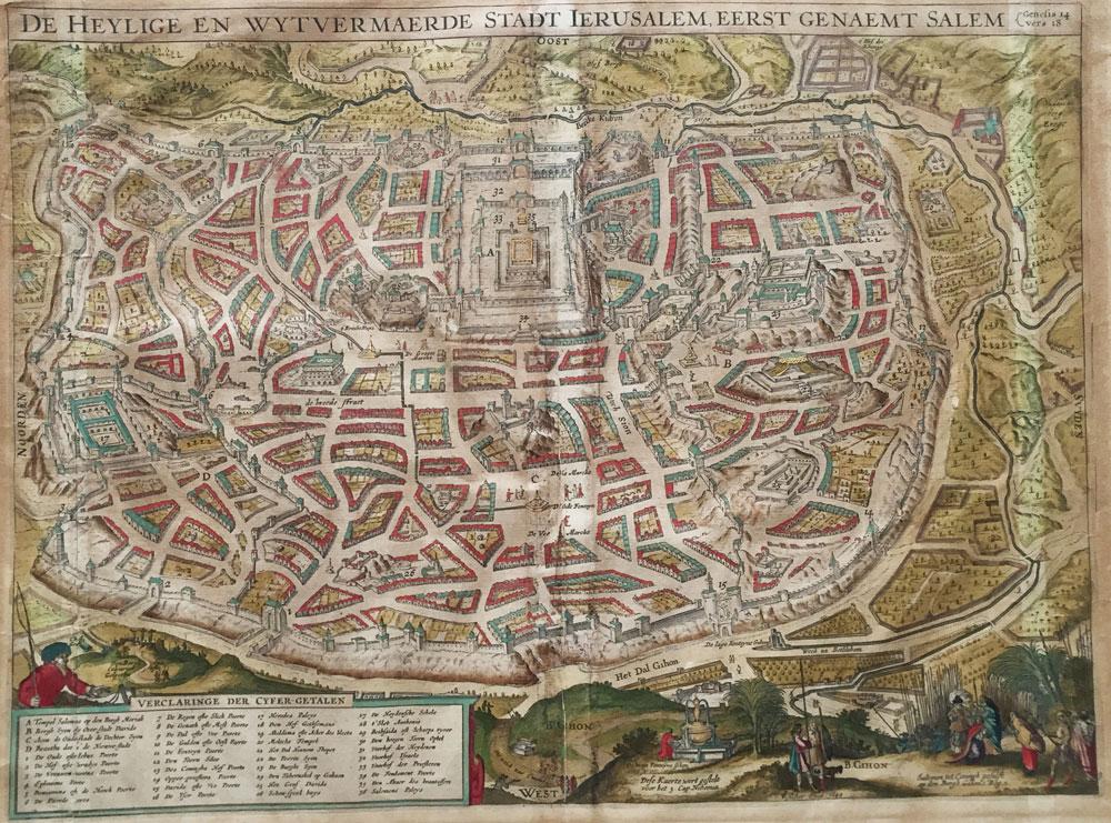 De Heylige en wytvermaerde stadt Ierusalem, eerst genaemt Salem