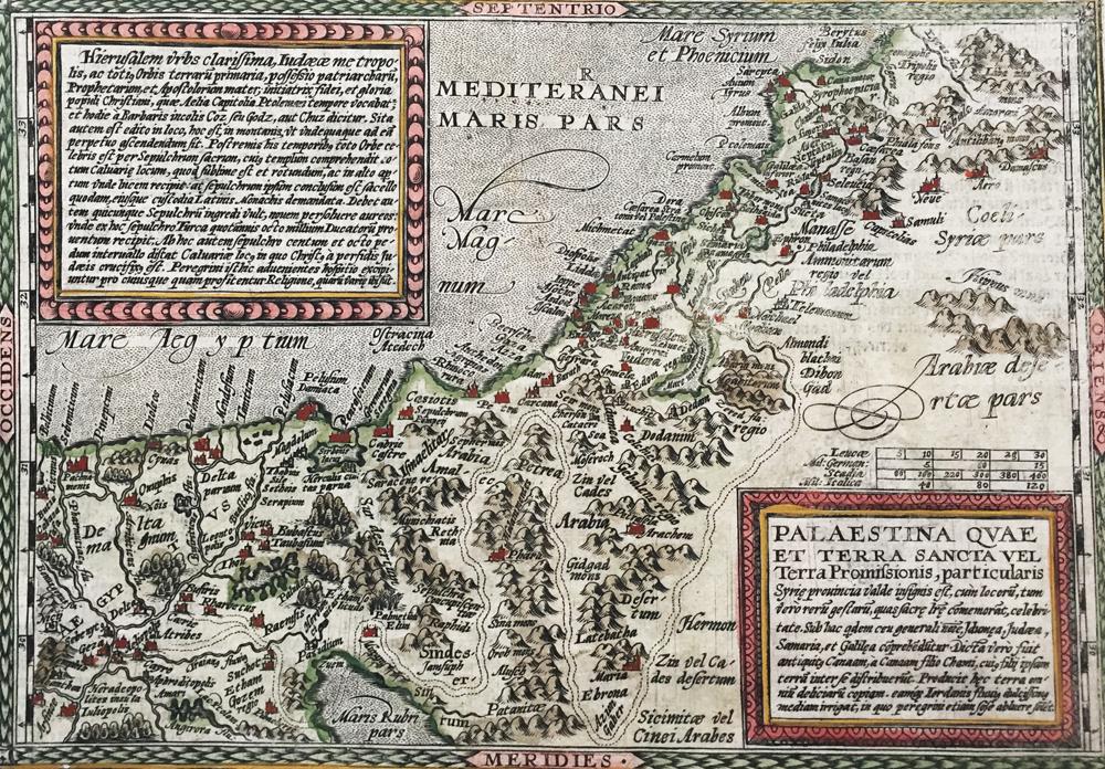 Palaestina quae et Terra Sancta vel Terra Promissionis, Particularis Syrie