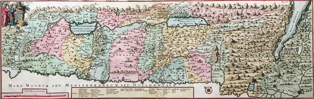 Tabula Geographica Terrae Sanctae