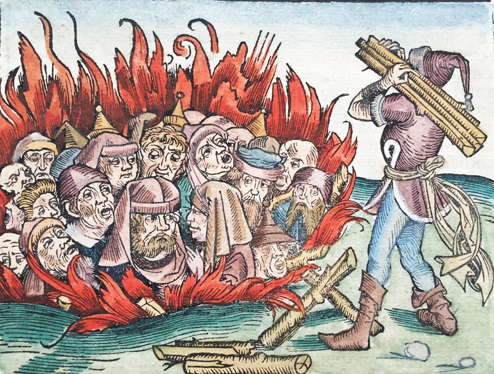 Jews Burned Alive during the southern German pogroms of 1298