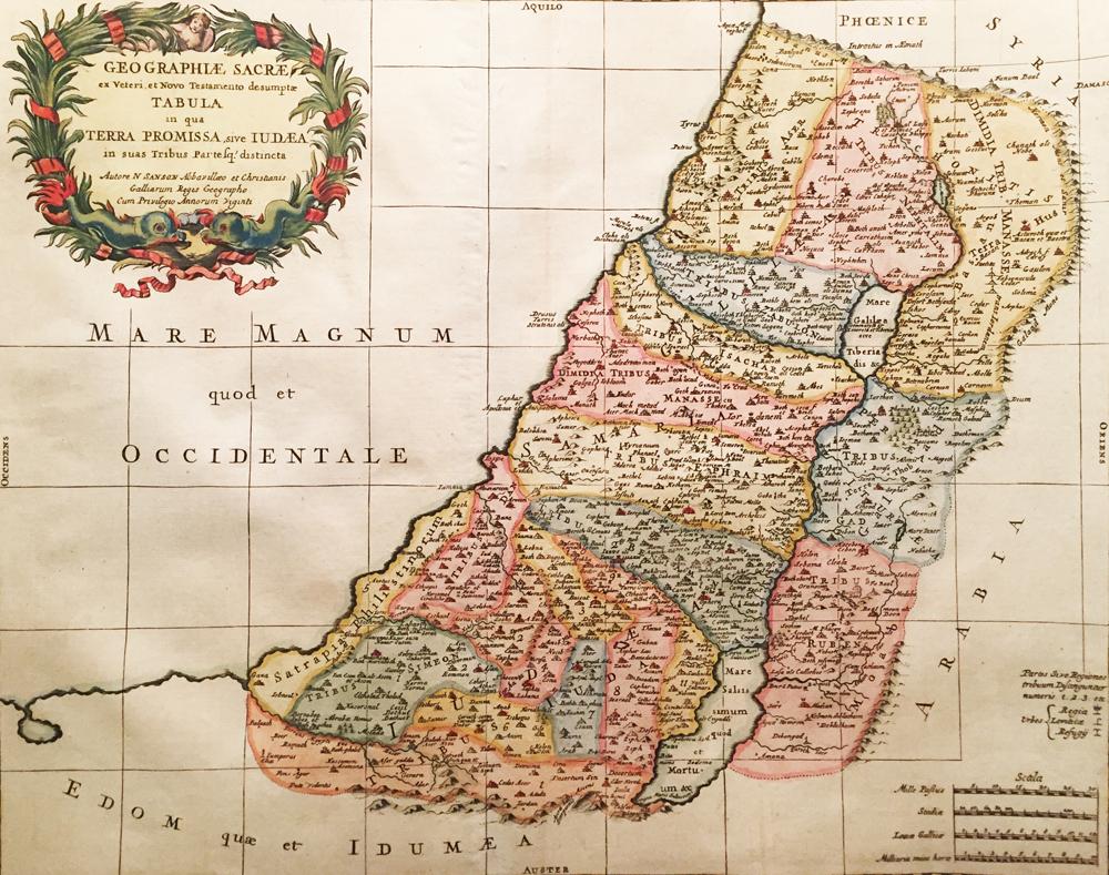 Terra Promissa sive Judaea