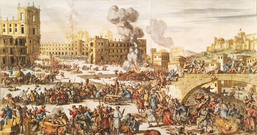 Antiochus Epiphanes' Repression In Jerusalem