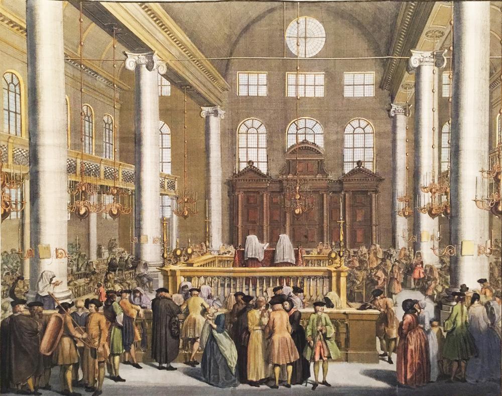 Prayer in Synagogue