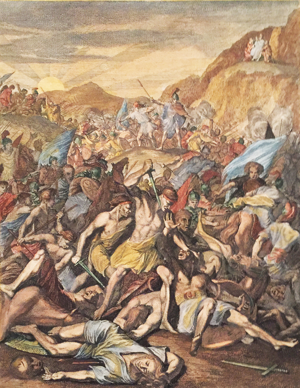 Amalekites attacks the Israelits