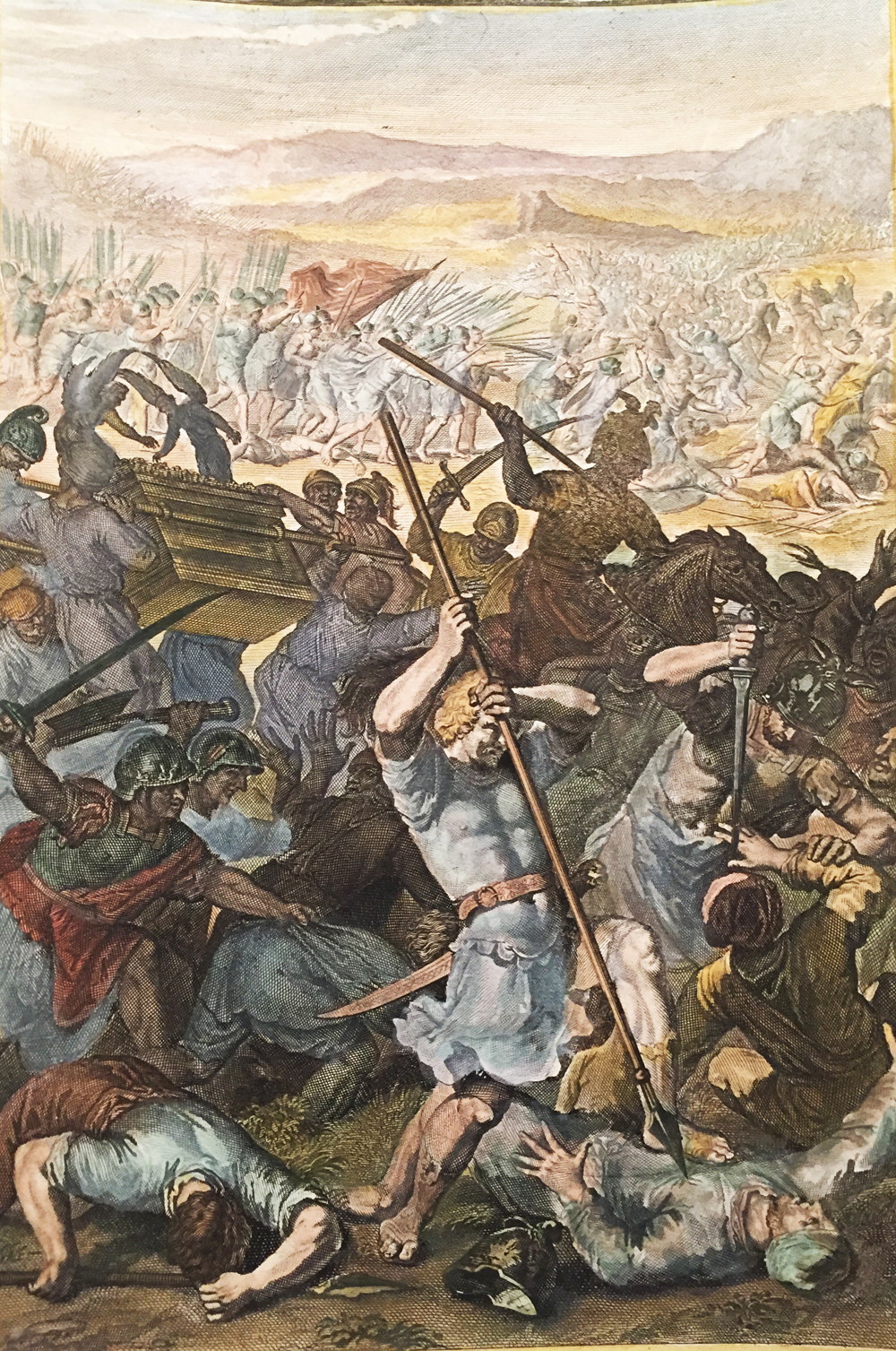 THE ISRAELITES DEFEATED BY THE PHILISTINES