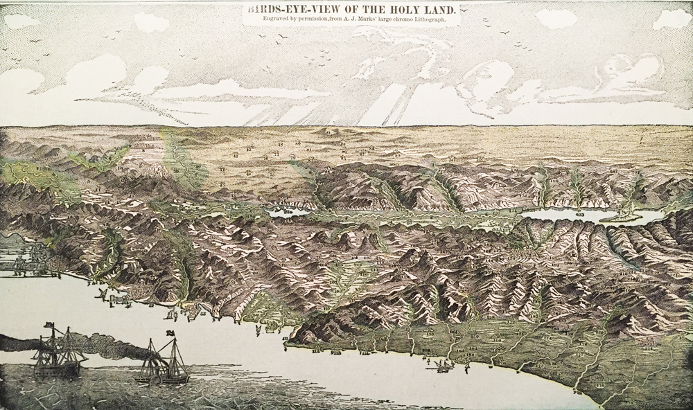 Holy Land – Bird's Eye View – Panorama