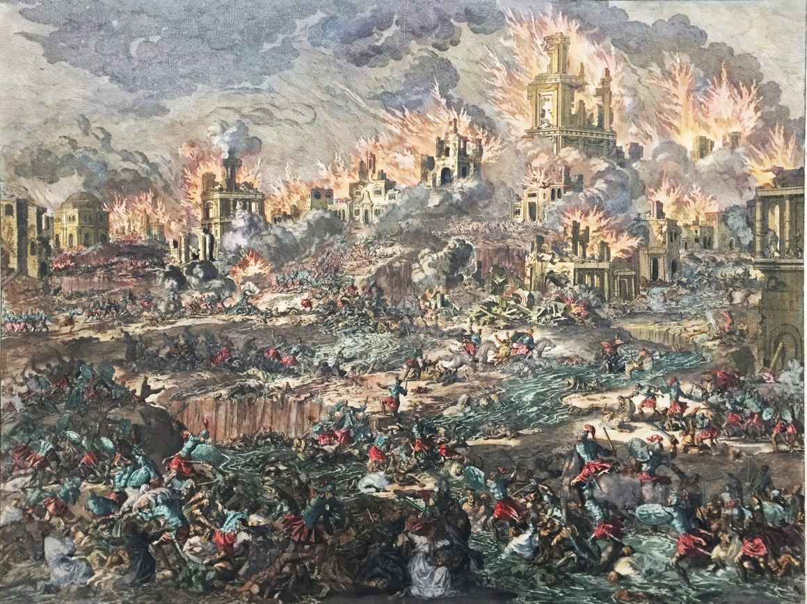 The Final Destruction of Jerusalem, First Holy Temple