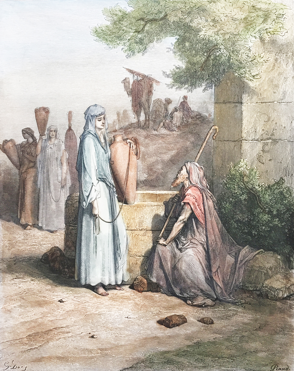 Lewis Rebekah at the Well