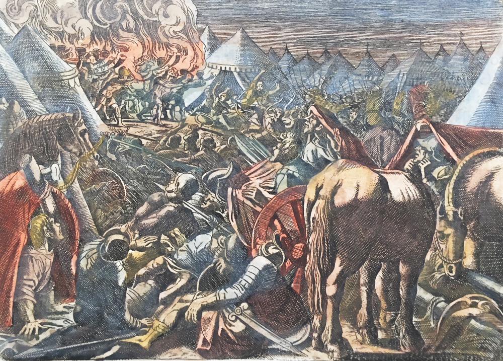 Defeat of the Madianites
