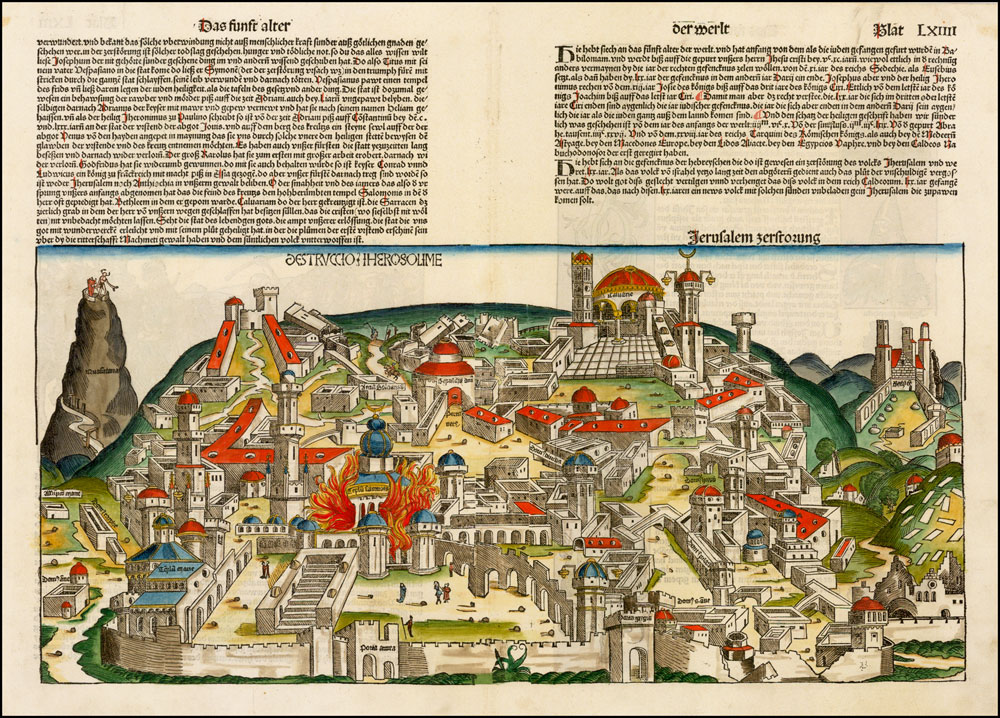 Destruction of Jerusalem – Nuremberg Chronicle