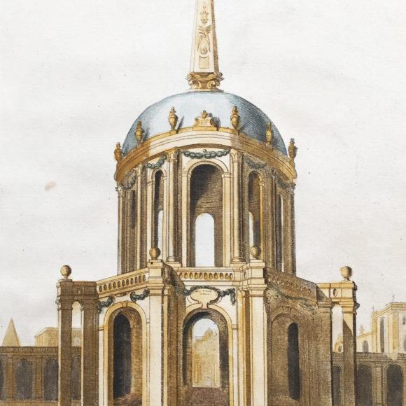 Tomb of the Kings of Israel – Veuë, et élévation du tombeau des rois d'Israël