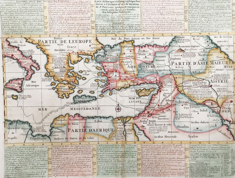 Historical and Geographical Map to Serve the Holy History with Some Curious Remarks to Serve the History of Judaic Antiquities