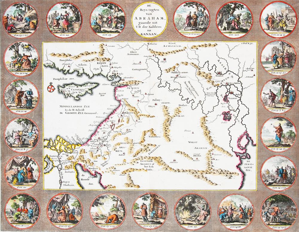 Travels of Abraham – De Reys-togten van Abraham gaande uit Ur der Kaldeen na Kanaan