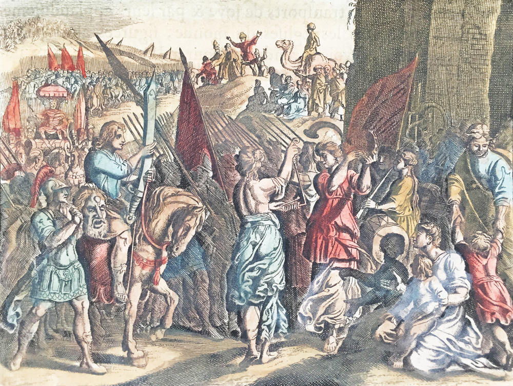 David Parades Goliath Head