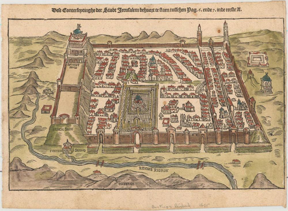 Dese Conterfeytinghe der Stadt Jerusalem