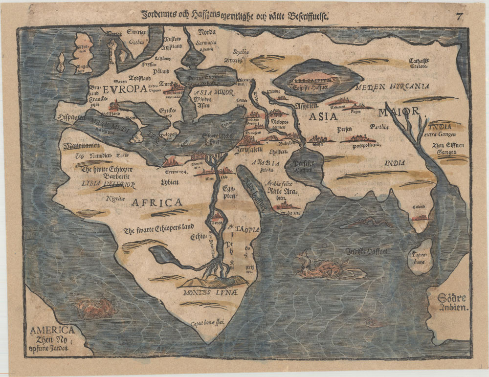 Old World – Jordennes och Haffzens Egentlighe och Ratte Bescriffuelse