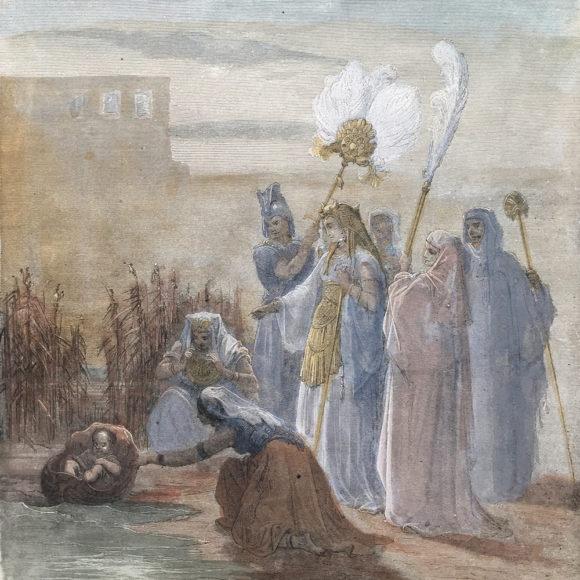 Batya Pharoah's Daughter and Moses
