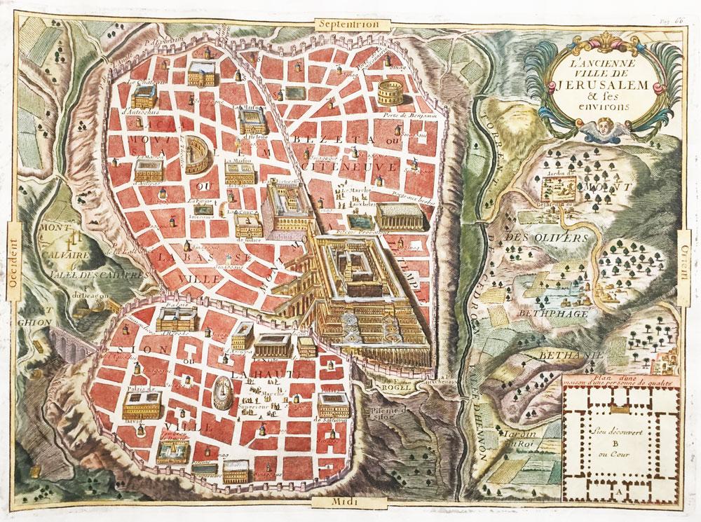 L'Ancienne Ville de Jerusalem et les Environs